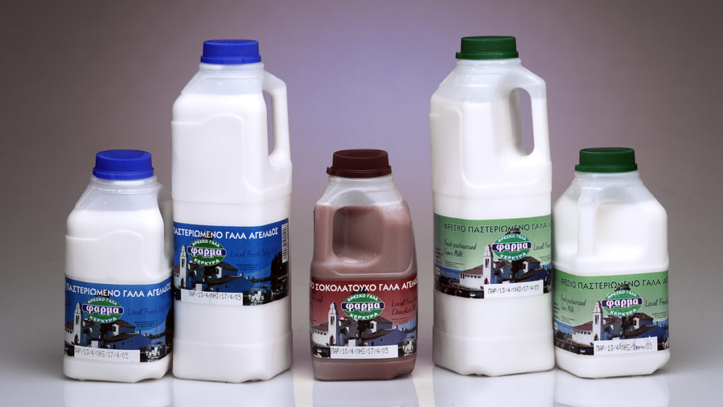 Selloplast milk labels